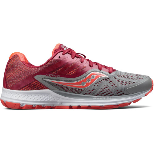 saucony Ride 10 - Chaussures running Femme - gris